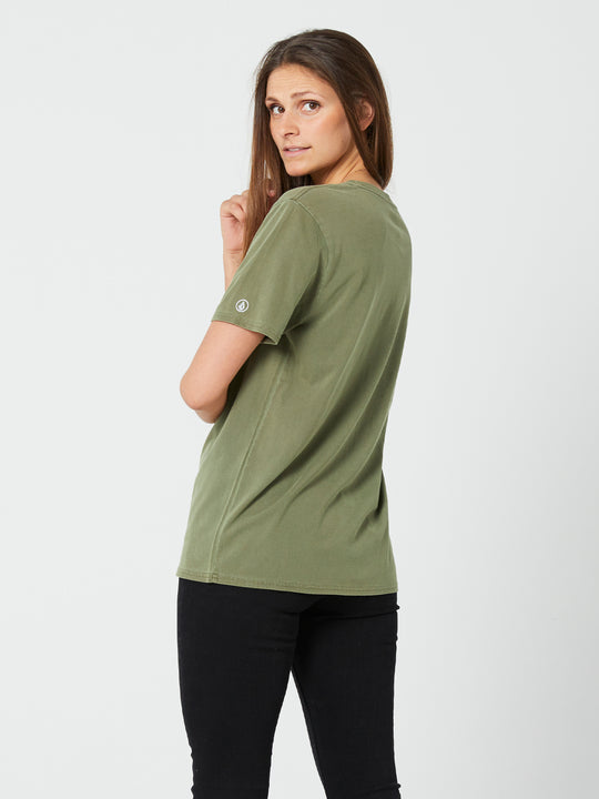 Pigment Wash Tee - Army Green Combo (B3532076_ARC) [B]