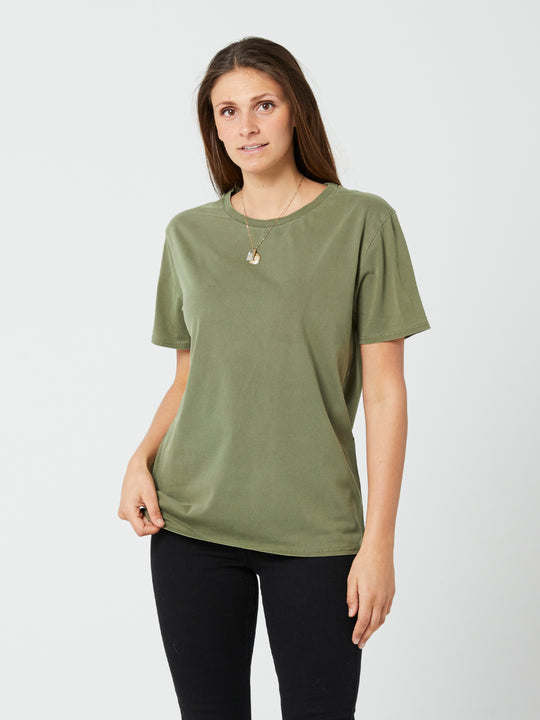 Pigment Wash Tee - Army Green Combo (B3532076_ARC) [F]