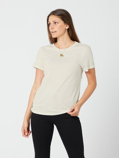 Pigment Wash Short Sleeve Tee - Stone