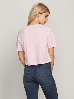 Pocket Dial Tee - Faded Pink