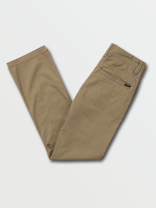 Boys Youth Frickin Modern Stretch Pants - Khaki