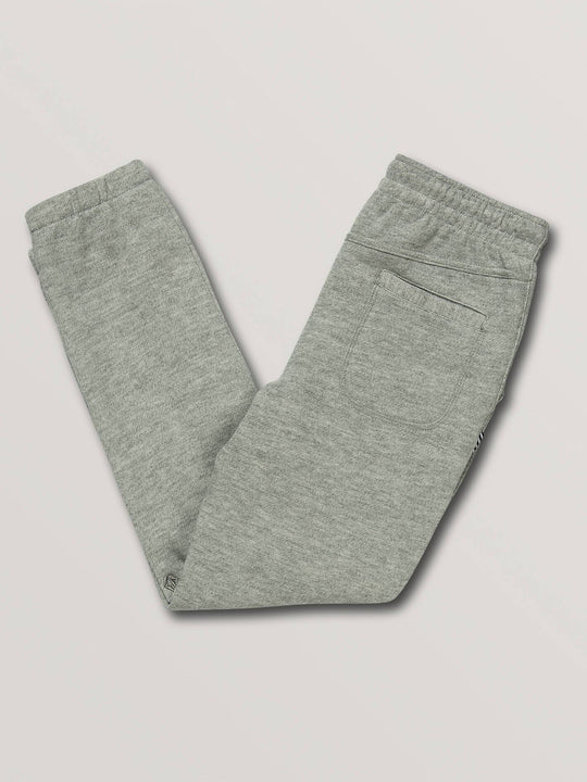 Boys Youth Burbank Fleece Pants - Heather Grey