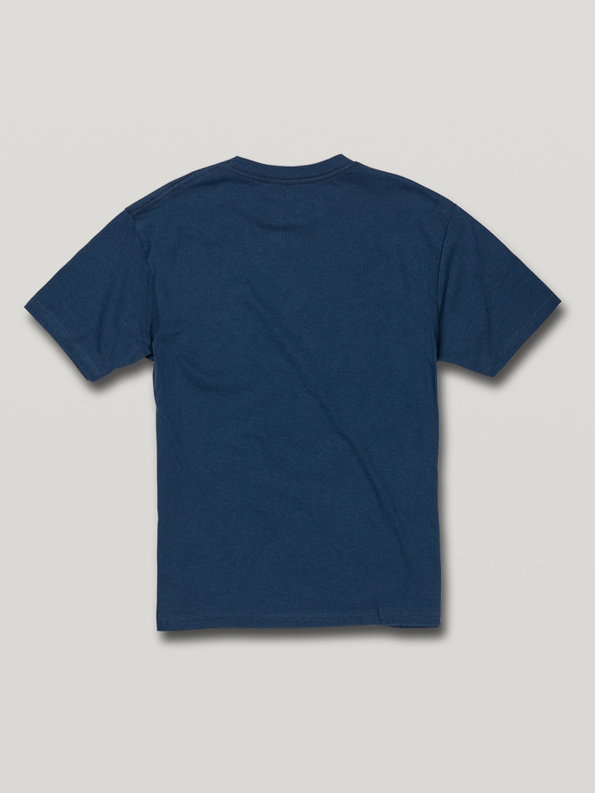 Boys Youth Circle Corp Short Sleeve Heather Tee - Navy Marle (C57117G1_NVM) [B]