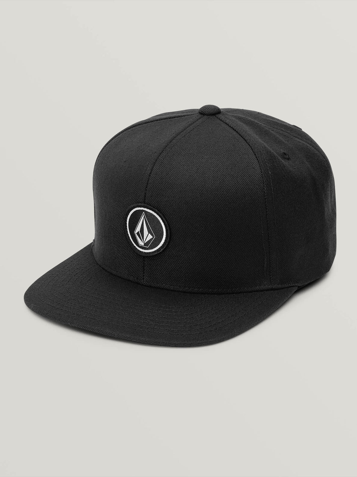 Quarter Twill Hat - Black (D5511561_BLK) [F]