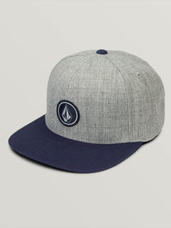 Quarter Twill Hat - Medium Grey