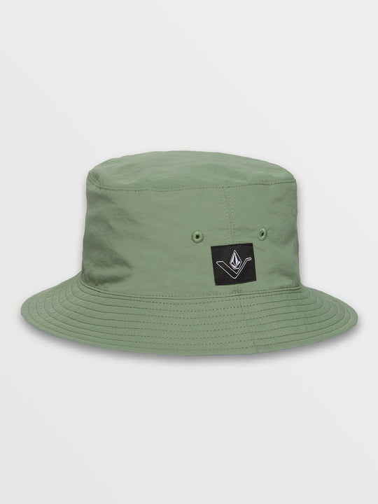 Vee Line Bucket Hat - Cactus Green