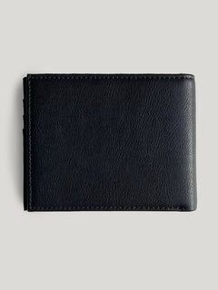 Slim Stone Wallet - Black (D6031648_BLK) [B]