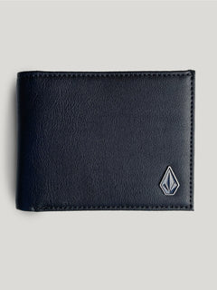 Slim Stone Wallet - Black (D6031648_BLK) [F]