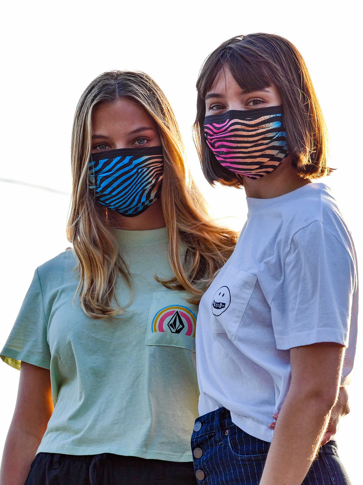 Volcom Assorted Face Mask - Rincon Blue