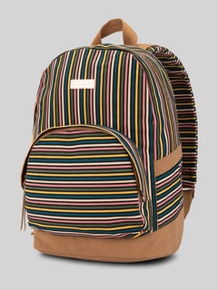 Vacations Canvas Backpack - Multicolour