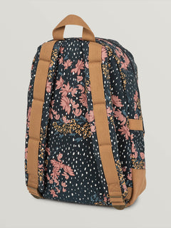 Vacations Canvas Backpack - Rosewood