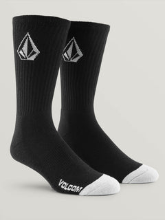 Full Stone Sock 3Pk Youth Black (F6321800_BLK) [1]