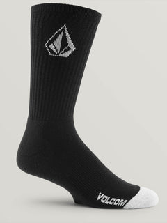 Full Stone Sock 3Pk Youth Black (F6321800_BLK) [2]