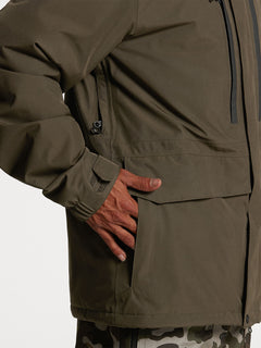 Ten Ins Gore-Tex Jacket Black Military (G0452113_BML) [06]