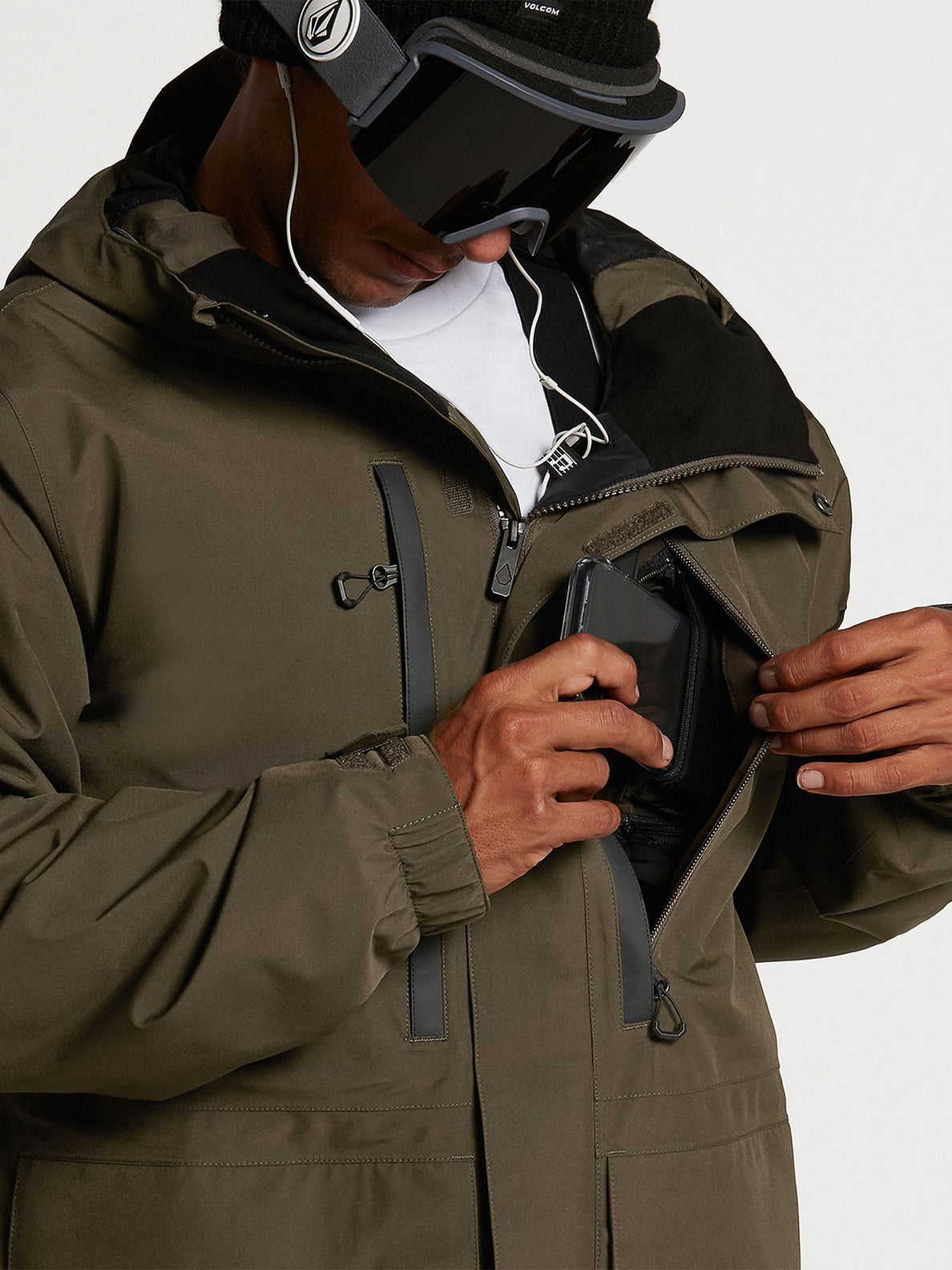Ten Ins Gore-Tex Jacket Black Military (G0452113_BML) [07]