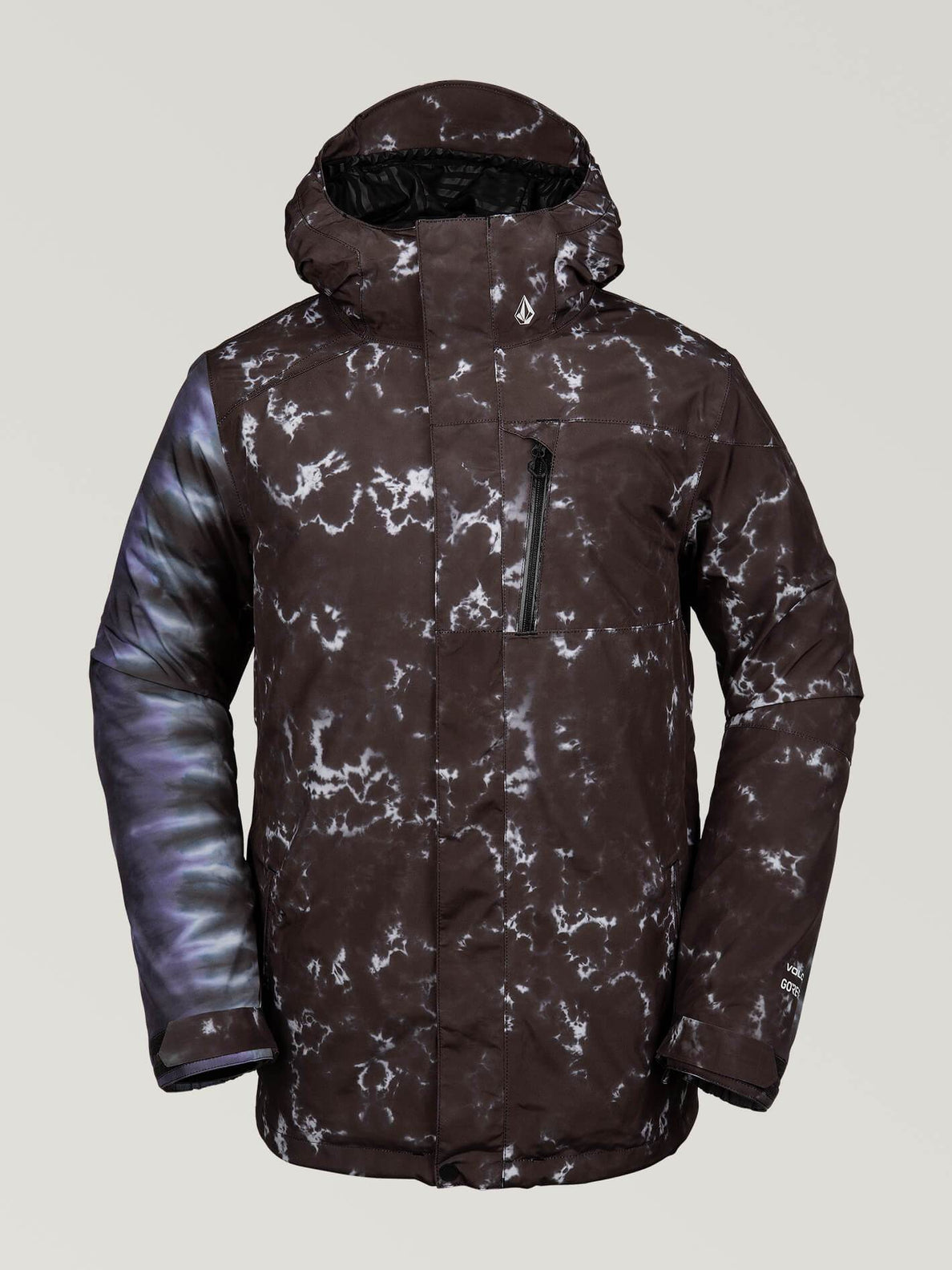 (LAST SEASON) L Gore-Tex Jacket - Black Print