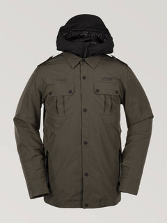 Creedle2Stone Jacket Forest (G0652006_FRS) [F]