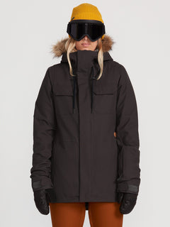 Womens Shadow Insulated Jacket - Black