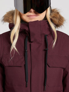 Shadow Insulated Jacket - Merlot (H0451913_MER) [4]