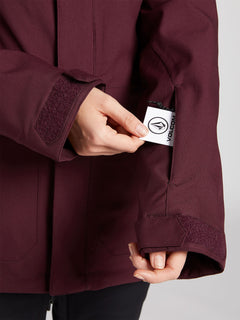 Shadow Insulated Jacket - Merlot (H0451913_MER) [6]