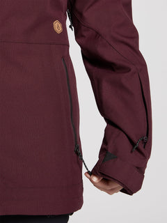 Shadow Insulated Jacket - Merlot (H0451913_MER) [7]