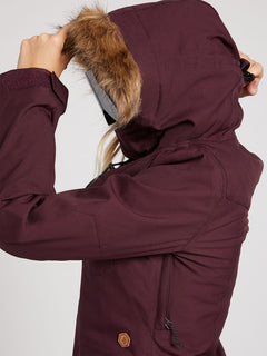 Shadow Insulated Jacket - Merlot (H0451913_MER) [8]