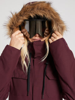 Shadow Insulated Jacket - Merlot (H0451913_MER) [9]