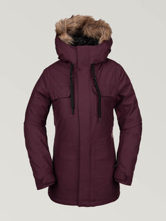 Shadow Insulated Jacket - Merlot (H0451913_MER) [F]