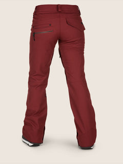 Species Stretch Pants - Burnt Red