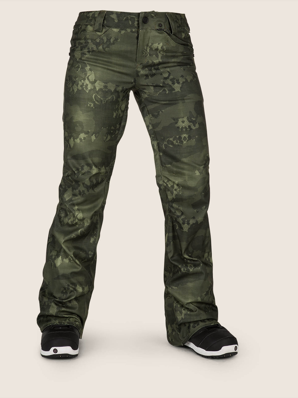 (Last Season) Womens Species Stretch Pants - Camouflage