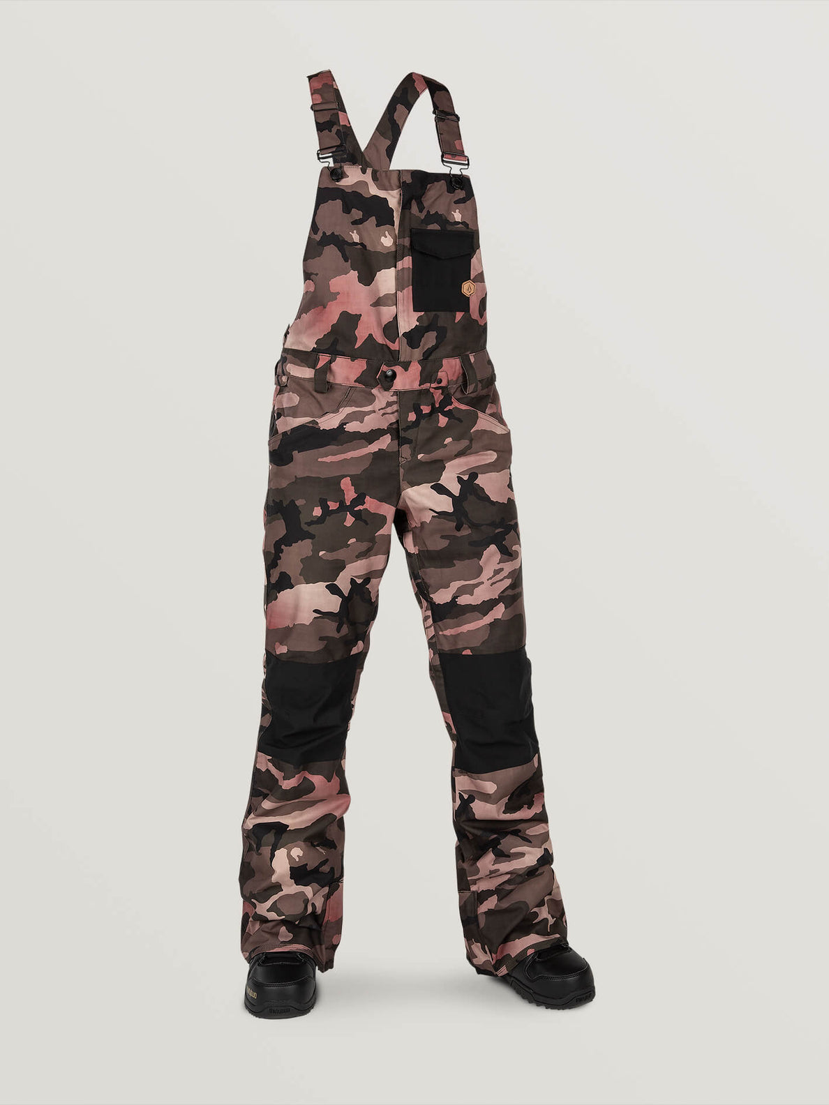 Swift Bib Overall Faded Army (H1352003_FDR) [F]