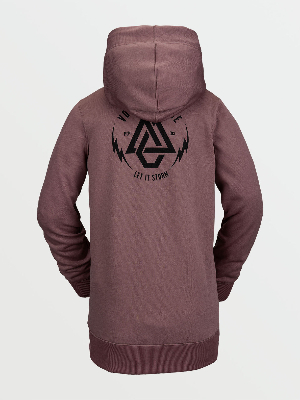 Spring Shred Hoody Rosewood (H4152103_ROS) [B]