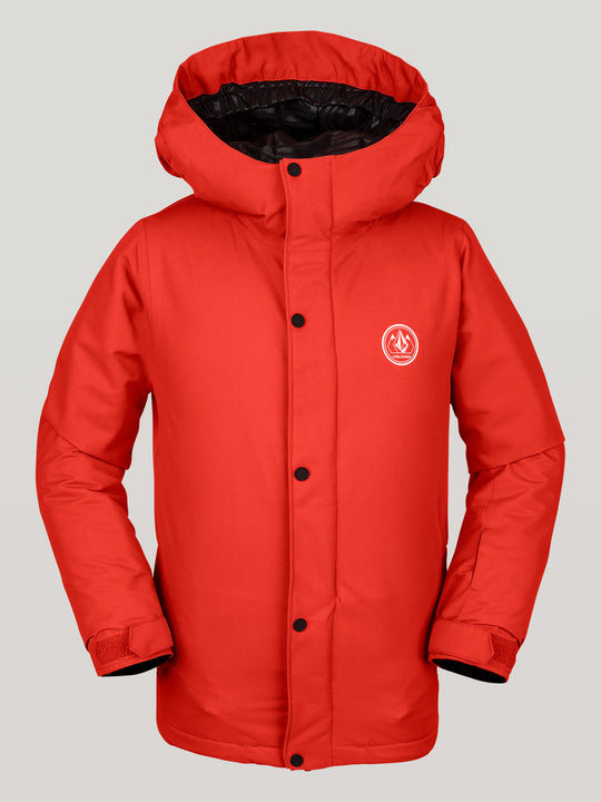 Boys Youth Ripley Ins Jacket - Orange