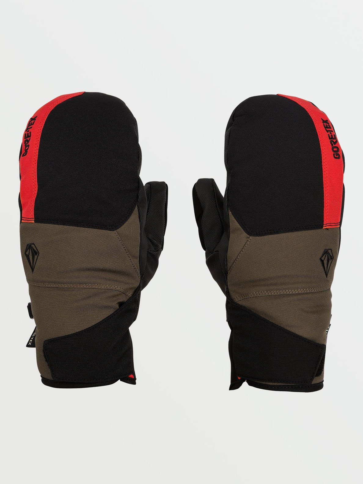 Mens Stay Dry GORE-TEX Mitt - Red