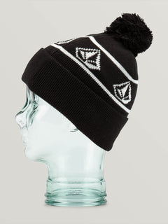 Powder Beanie Black (L5852001_BLK) [B]