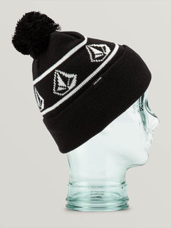 Powder Beanie Black (L5852001_BLK) [F]