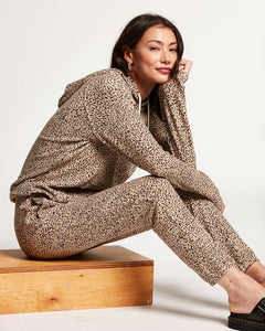 Lived In Lounge Fleece Pant - Animal Print