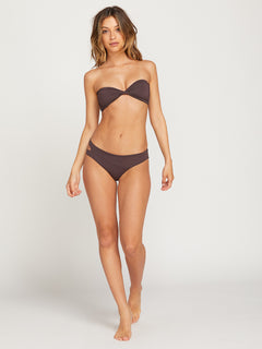 Simply Seamless Bandeau Top - Dark Chocolate