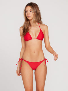 Simply Solid Triangle Top - True Red (O1411700_TRR) [F]