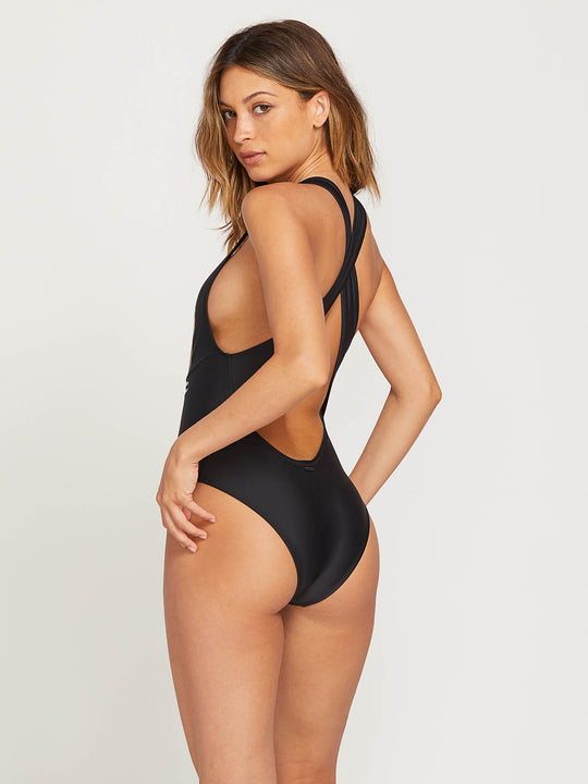 Fresh Ink 1 Piece Swimsuit - Black Combo
