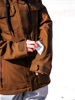 Womens Shadow Insulated Jacket - Copper