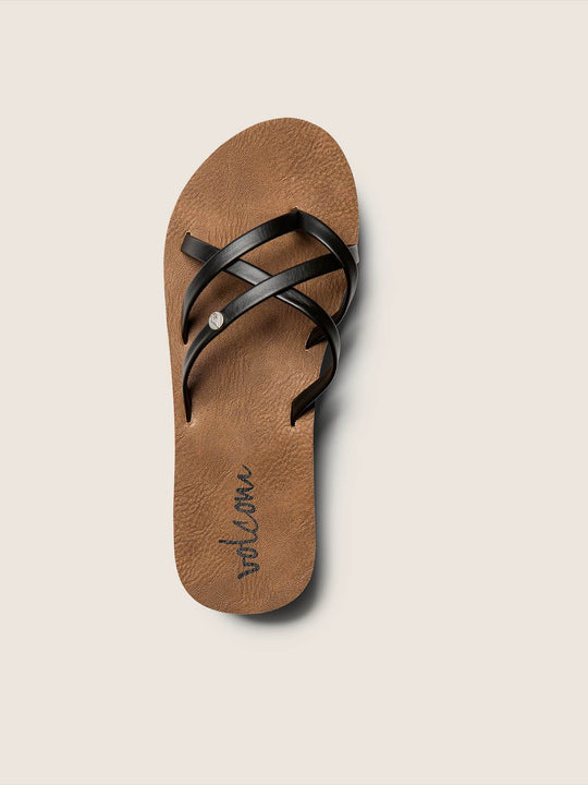 New School Sandals Youth - Black