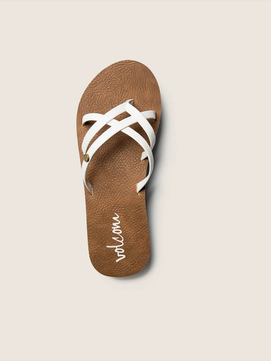New School Sandals Youth - White