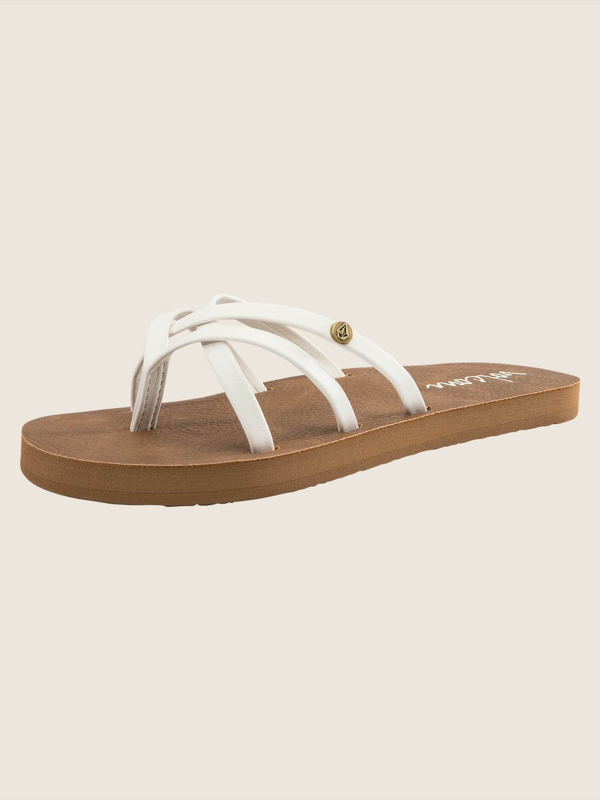 Girls Youth New School Sandals - White (T0811750_WHT) [B]