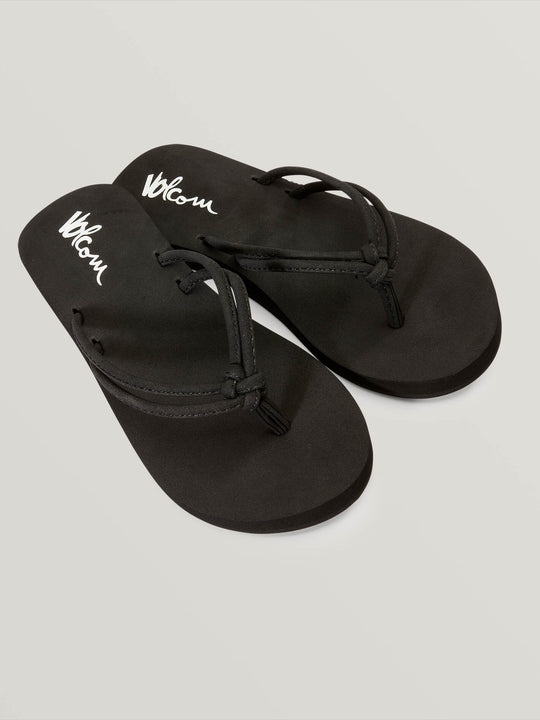 Girls Youth Forever And Ever Sandals - Black