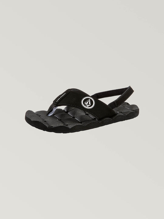 Recliner Sandals Little Youth - Black/White