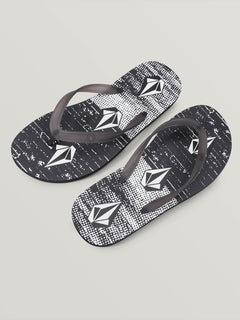 Rocker 2 Sandals - Black/White