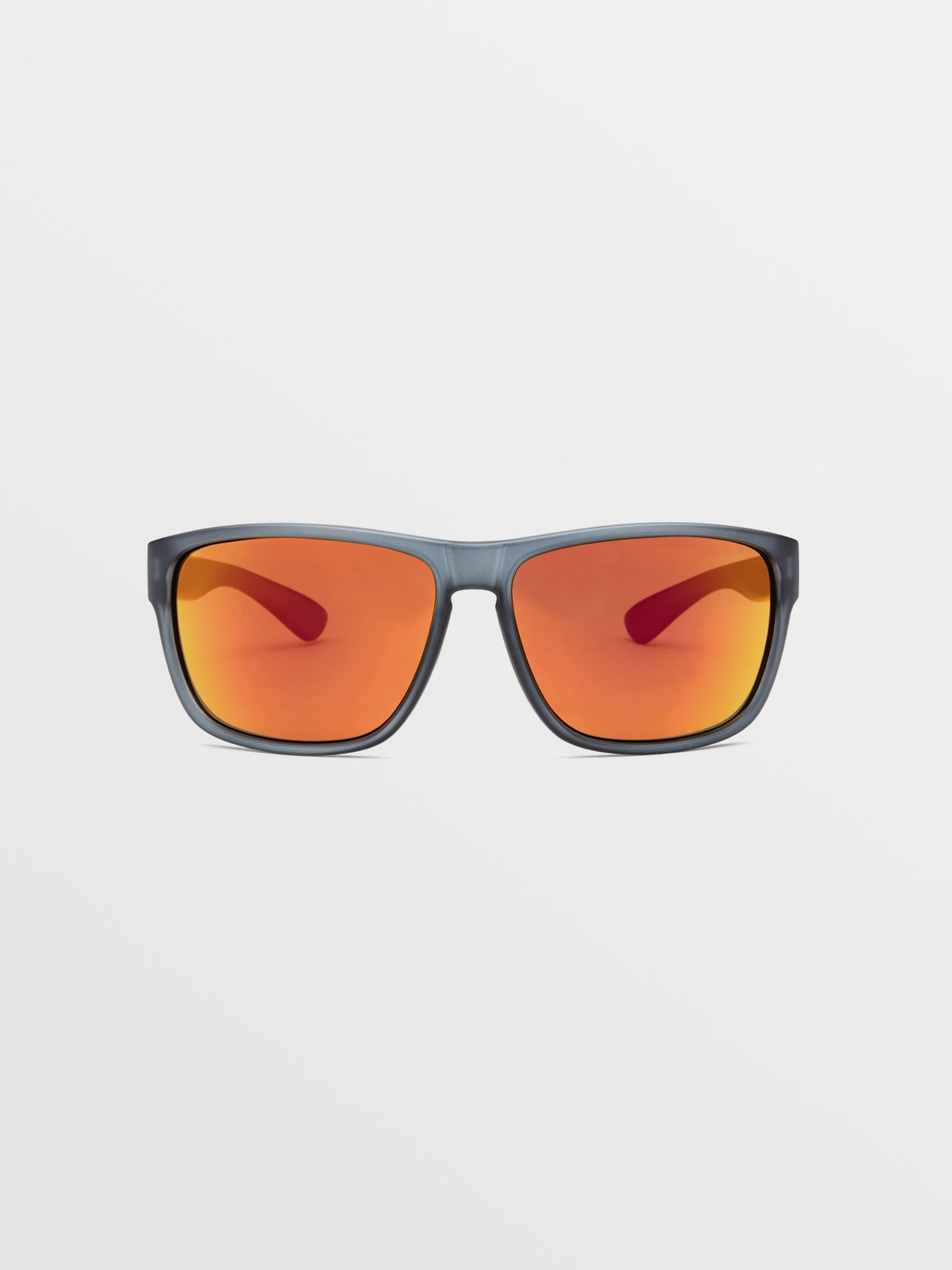 Baloney Sunglasses - Matte Smoke / Heat Mirror