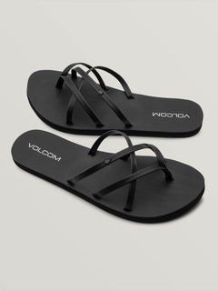 New School II Sandals - Black Out
