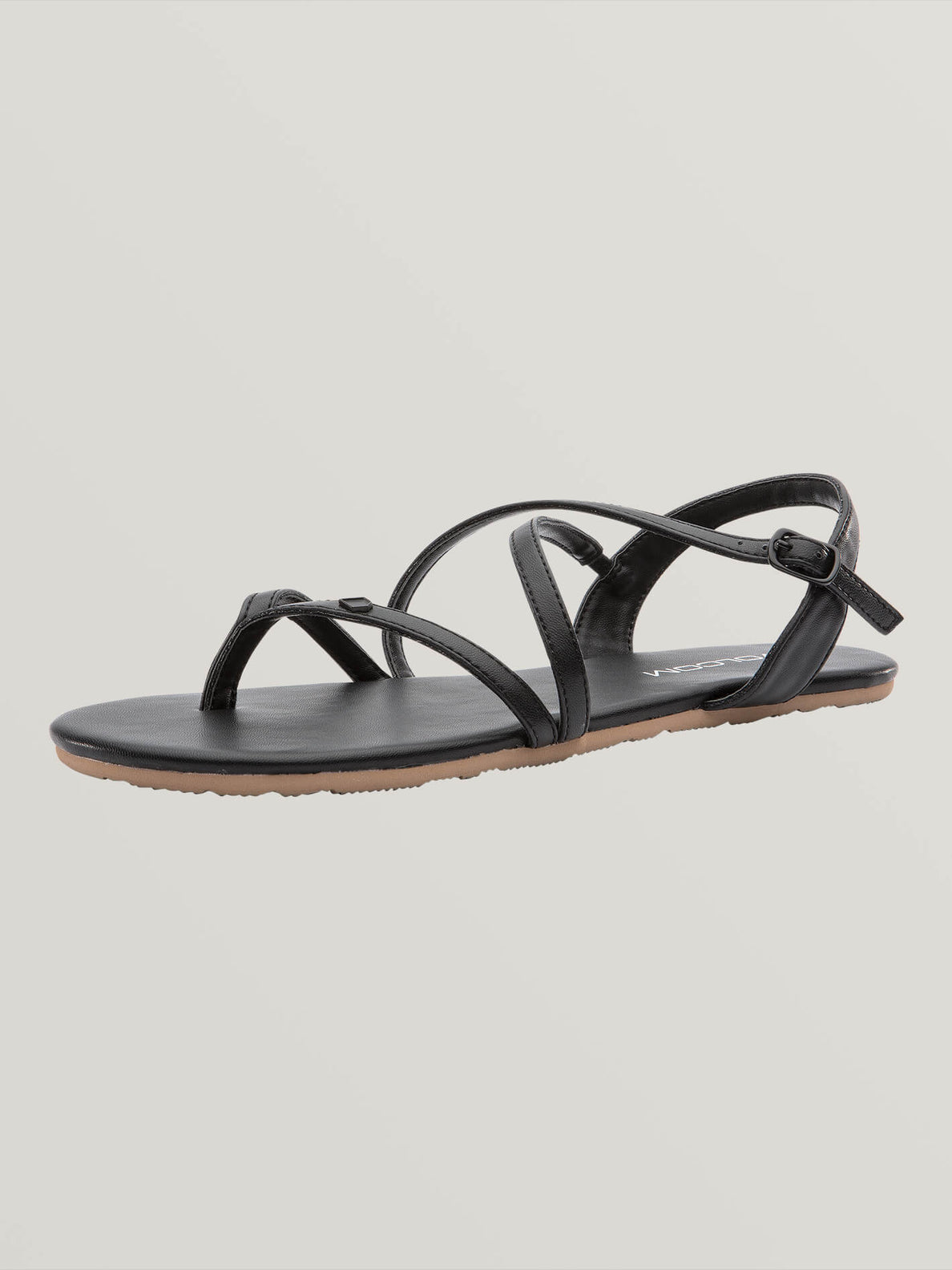 Strapped In Sandals - Black Out